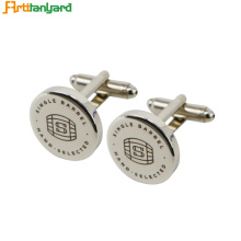 Nickel Cufflinks For Men With Synthetic Enamel