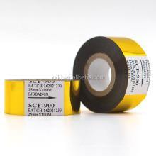 SCF-900 Fineray Brand Hot Stamping Ribbon /Hot Foil Ribbon Jumbo Roll/Expiry Date Stamp Foil