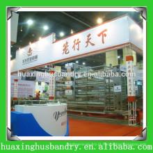Jaula de camada de frango Huaxing / gaiola de criador de frango / jaula de gado para frango