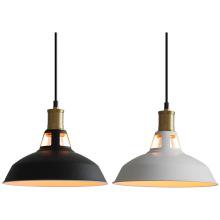 Nordic industrial wrought iron black hanging lamp home decor indoor lighting modern minimalist pendant light