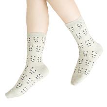 Damen Cotton Crew Socken mit Panda Muster (WA051)