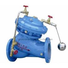 Válvula de flutuador de controle remoto tipo diafragma F745X / H103X para controle de nível de água