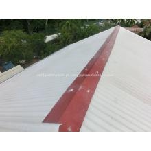 Folha nova do telhado do material de construção