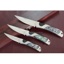 Couteau pliant en acier inoxydable 420 (SE-0260)