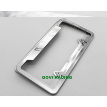 Molduras de matrículas de metal Quadro de matrícula personalizado para carro