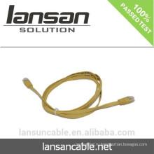 CAT6 Гибкий кабель с разъемом RJ45 в плоской форме