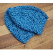 Kinderen gehaakte hoed Lace Tam blauwe vrouwen Mesh hoed