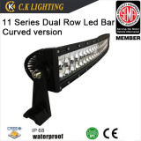 "Promotion 50"" curved dual row led light bar for truck"