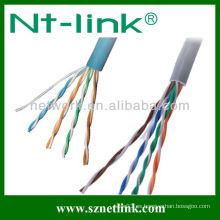 Cable de cable sólido / utp rj45 cat.5e lan