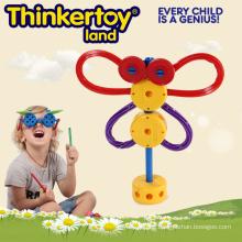Hot Selling Plastic Educational Building Spielzeug für Kindergarten