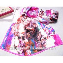 digital print custom design silk scarf hijab scarf Tongshi supplier alibaba china 2015