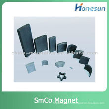 segment smco r16x28x3.4x45mm samarium cobalt aimants smco