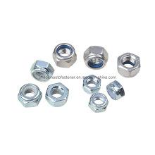 Tuerca de bloqueo de nylon de acero inoxidable DIN985