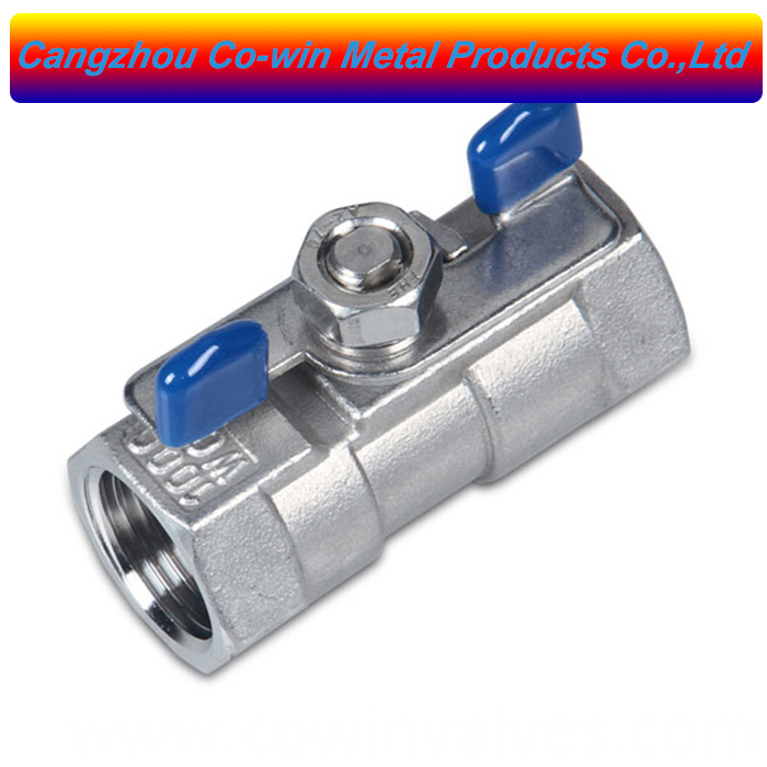 Butterfly Handle 1pc Ball Valve
