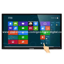 70-inch LCD Interactive Whiteboard, IR multiple Touch, Full Metal Casing, LED Backlight