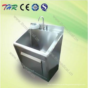 Thr-Ss011 Fregadero de fregadero de acero inoxidable para hospitales