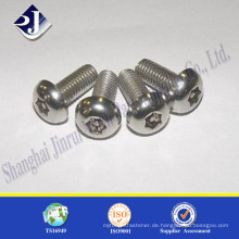 Runde Kopf Anti-Diebstahl-Verschluss Schraube Schraube Maschine Anti-Diebstahl-Schraube Schraube