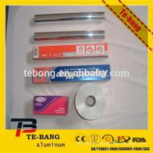 High temperature resistant aluminum foil for grilling