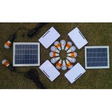 Système d'éclairage de charge de batterie solaire