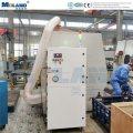Sistema de limpeza de poeira com solda automática por robô