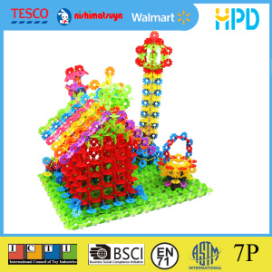 Great Imagination Snowflake Shape Building Blocks Toy