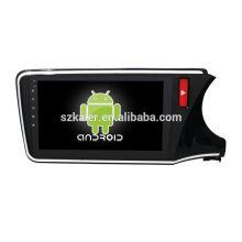 Quatro núcleos! Android 6.0 carro dvd para CITY RIGHT com 10.1 polegadas touch screen capacitiva / GPS / Link Mirror / DVR / TPMS / OBD2 / WIFI / 4G