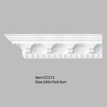 Cornijas e molduras arquitetônicas de interiores