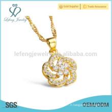 Collier en diamant pour dames et diamants, bijoux vintage en cuivre