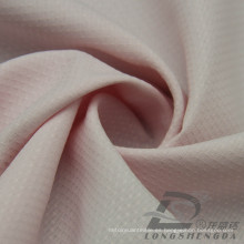 Resistente al agua y al aire libre ropa deportiva al aire libre chaqueta tejida diamante punteado Jacquard 100% poliéster Pongee tela (E053FD)