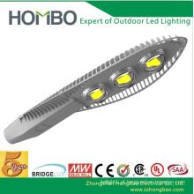 Alta qualidade HOMBO levou luz super brilhante alumínio de alta potência levou lâmpada de rua Bridgelux chip integração levou iluminação exterior