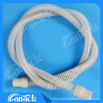 Tube respiratoire pour l'apnée du sommeil, tube CPAP