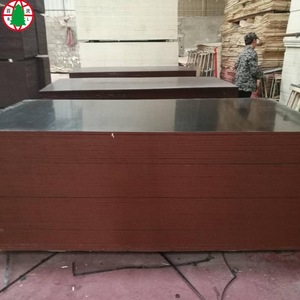 Black film faced shuttering plywood from Linyi