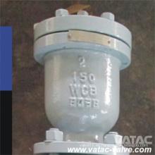 Válvula de liberación de aire de brida de acero Wcb / Lcb de fundición de acero
