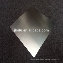 China Professional Manufacturer Supplier Customized brushed Aluminum Sheet