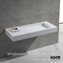 KKR Marble acrylic bathroom trough sink