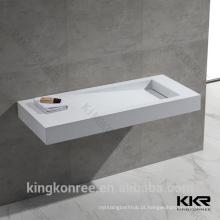 Pia de banheiro em acrílico KKR Marble