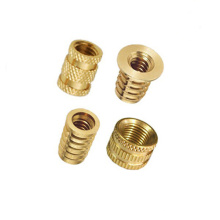 Tembaga PPR paip Male Female Brass Inserts Nut