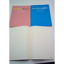 Cuadernos de tapa suave de alta calidad y venta caliente