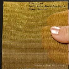 Tissu tissé de cuivre
