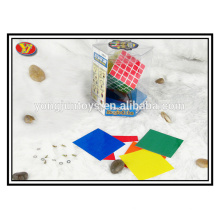 5 couches de type promotionnel en plastique de type cubes magiques