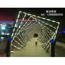 Динамический интерактивный свет туннеля времени