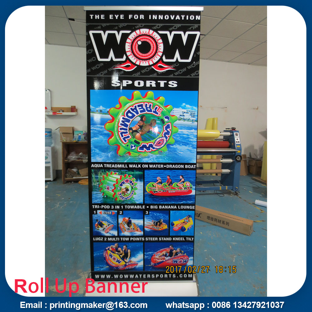 Estandes de Banner Roll Up Wide Wide Base Wide Wide Base