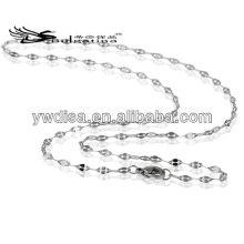 Cadeia de aço inoxidável serpente cadeia barato grossa cadeia de homens com preço de fábrica