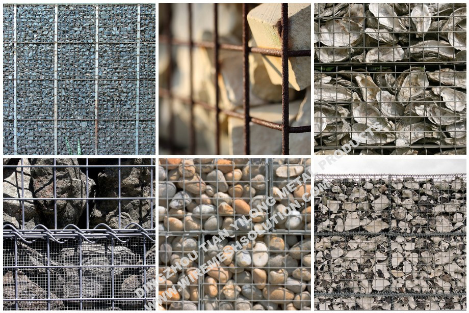 Zinc-Aluminum Alloy Welded Wire Mesh Gabion