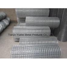 Mesh métallisé galvanisé pour construction / treillis en fer galvanisé / grillage métallisé à chaud et trempé chaud