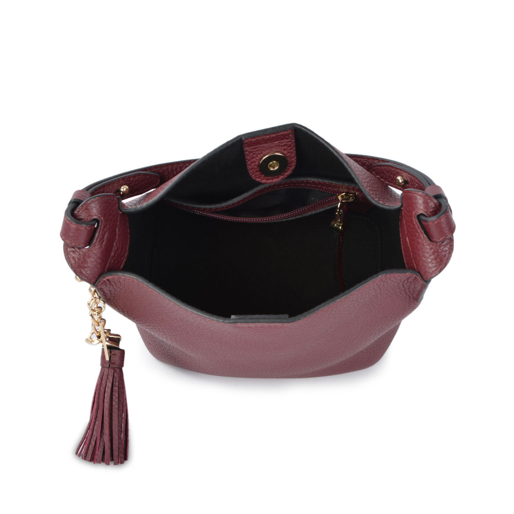 Dropshipping Woman leather Hobo bag