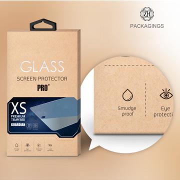 Benutzerdefinierte Druck gehärtetes Glas Verpackung