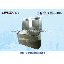 Stainless steel type II sensor wash basin