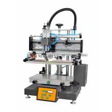 Мини-плоская трафаретная печатная машина с абсорбционной таблицей
