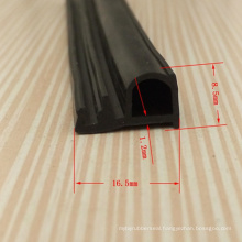 Custom Co-Extruded EPDM Rubber Profiles